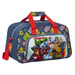 Bolsa deporte Vengadores Avengers Marvel Heroes vs Thanos