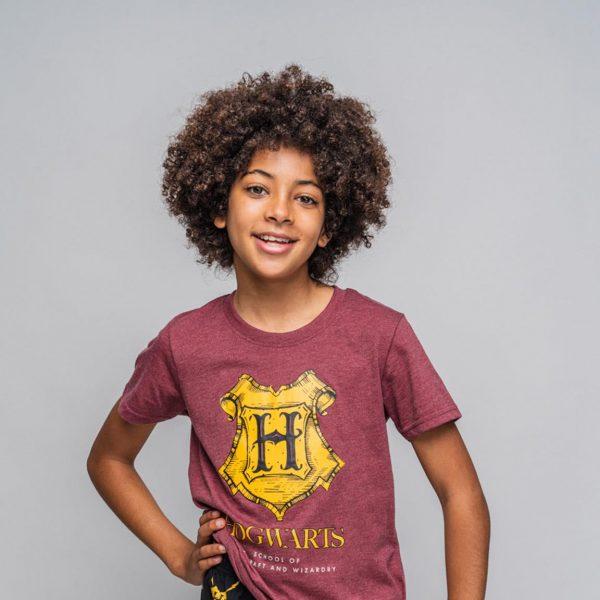 Conjunto verano Harry Potter Hogwarts modelo