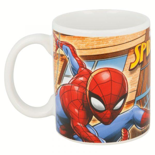 Taza cerámica Spiderman Marvel trasera