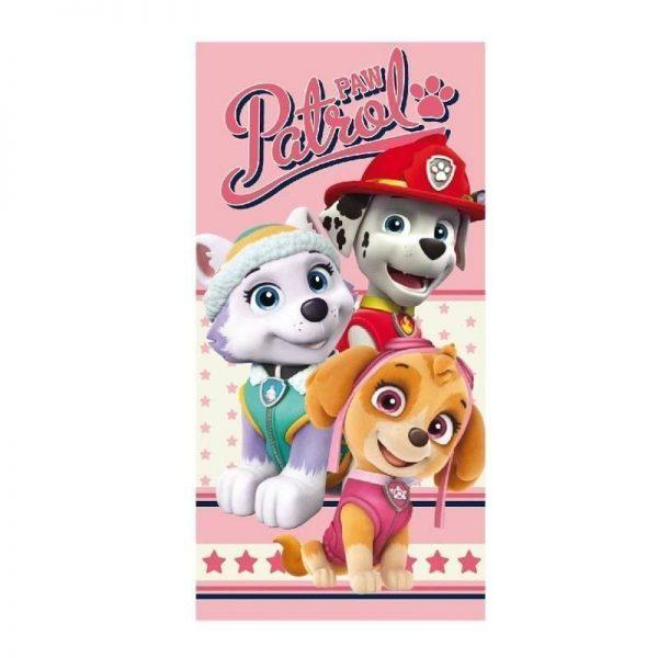 toalla-patrulla-canina-rosa